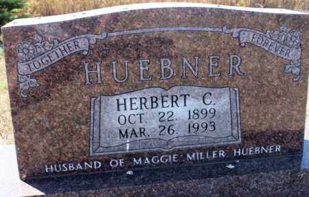 HUEBNER, HERBERT C. - Logan County, North Dakota   HERBERT C. HUEBNER - North Dakota Gravestone Photos