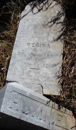 HUMMEL, REGINA - Logan County, North Dakota | REGINA HUMMEL - North Dakota Gravestone Photos