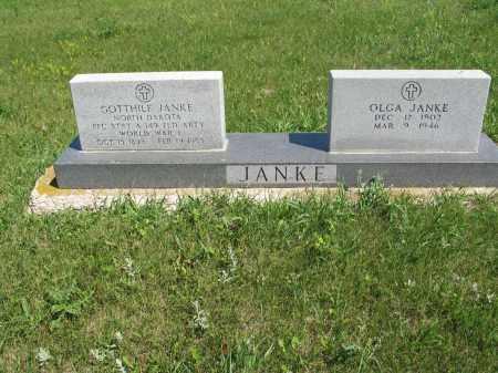 JANKE 105, GOTTHILF - Logan County, North Dakota | GOTTHILF JANKE 105 - North Dakota Gravestone Photos