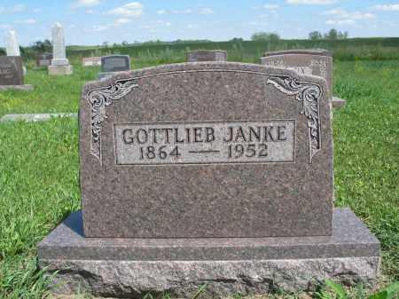 JANKE 167, GOTTLIEB - Logan County, North Dakota | GOTTLIEB JANKE 167 - North Dakota Gravestone Photos