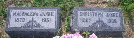 JANKE, CHRISTOPH - Logan County, North Dakota | CHRISTOPH JANKE - North Dakota Gravestone Photos