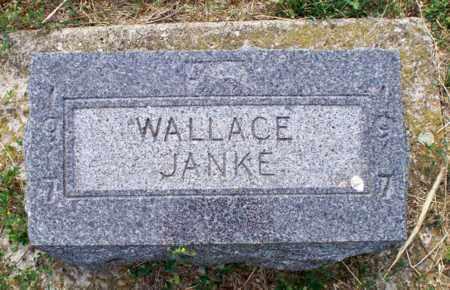 JANKE, WALLACE - Logan County, North Dakota   WALLACE JANKE - North Dakota Gravestone Photos
