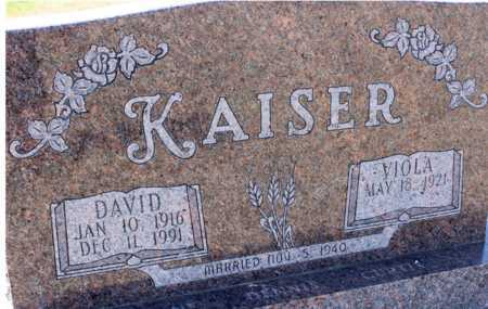 KAISER, DAVID - Logan County, North Dakota | DAVID KAISER - North Dakota Gravestone Photos