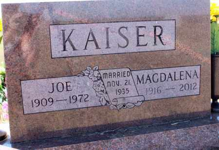 KAISER, JOE - Logan County, North Dakota | JOE KAISER - North Dakota Gravestone Photos