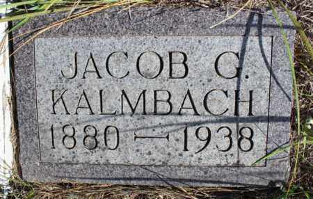 KALMBACH, JACOB G. - Logan County, North Dakota | JACOB G. KALMBACH - North Dakota Gravestone Photos