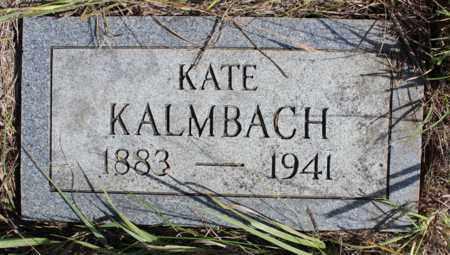 KALMBACH, KATE (KATHERINA) - Logan County, North Dakota   KATE (KATHERINA) KALMBACH - North Dakota Gravestone Photos