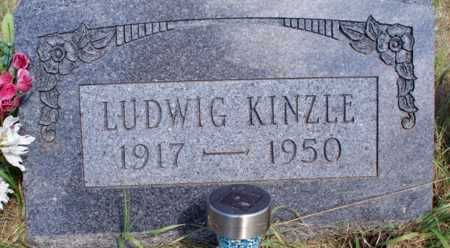 KINZLE, LUDWIG - Logan County, North Dakota | LUDWIG KINZLE - North Dakota Gravestone Photos