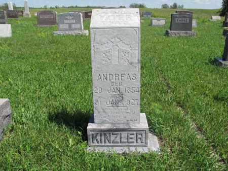 KINZLER 131, ANDREAS - Logan County, North Dakota | ANDREAS KINZLER 131 - North Dakota Gravestone Photos