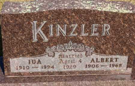 KINZLER, ALBERT - Logan County, North Dakota | ALBERT KINZLER - North Dakota Gravestone Photos