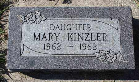 KINZLER, MARY - Logan County, North Dakota | MARY KINZLER - North Dakota Gravestone Photos