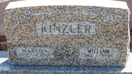KINZLER, WILLIAM - Logan County, North Dakota | WILLIAM KINZLER - North Dakota Gravestone Photos
