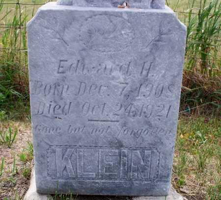 KLEIN, EDWARD H. - Logan County, North Dakota | EDWARD H. KLEIN - North Dakota Gravestone Photos