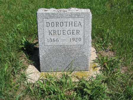 BROST KRUEGER 003, DOROTHEA - Logan County, North Dakota | DOROTHEA BROST KRUEGER 003 - North Dakota Gravestone Photos