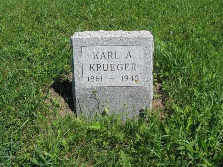 KRUEGER 048, KARL A. - Logan County, North Dakota | KARL A. KRUEGER 048 - North Dakota Gravestone Photos