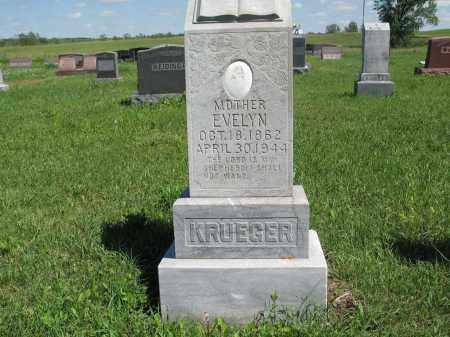 KRUEGER 117, EVELYN - Logan County, North Dakota   EVELYN KRUEGER 117 - North Dakota Gravestone Photos