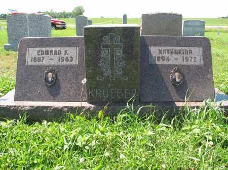 KRUEGER 158, KATHARINA - Logan County, North Dakota | KATHARINA KRUEGER 158 - North Dakota Gravestone Photos