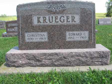 KRUEGER 160, CHRISTINA - Logan County, North Dakota | CHRISTINA KRUEGER 160 - North Dakota Gravestone Photos