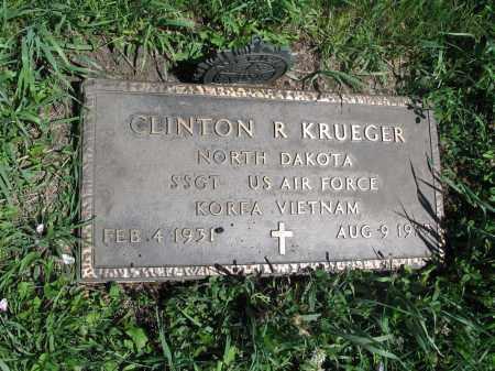 KRUEGER 178, CLINTON R. - Logan County, North Dakota | CLINTON R. KRUEGER 178 - North Dakota Gravestone Photos