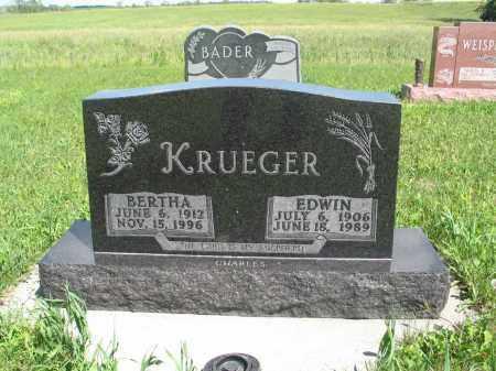 BUERKLE KRUEGER 189, BERTHA - Logan County, North Dakota | BERTHA BUERKLE KRUEGER 189 - North Dakota Gravestone Photos
