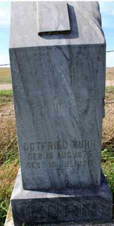 KUHN, GOTTFRIED - Logan County, North Dakota | GOTTFRIED KUHN - North Dakota Gravestone Photos