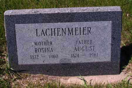 LACHENMEIER, AUGUST - Logan County, North Dakota | AUGUST LACHENMEIER - North Dakota Gravestone Photos