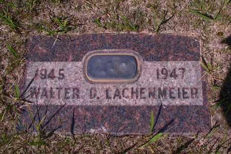 LACHENMEIER, WALTER D. - Logan County, North Dakota | WALTER D. LACHENMEIER - North Dakota Gravestone Photos
