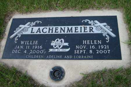 LACHENMEIER, HELEN - Logan County, North Dakota | HELEN LACHENMEIER - North Dakota Gravestone Photos
