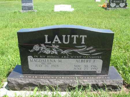 LUX LAUTT 058, MAGDALENA M. - Logan County, North Dakota | MAGDALENA M. LUX LAUTT 058 - North Dakota Gravestone Photos