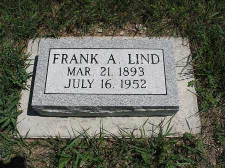LIND, FRANK A. (FRANZ ALEXANDER) - Logan County, North Dakota | FRANK A. (FRANZ ALEXANDER) LIND - North Dakota Gravestone Photos