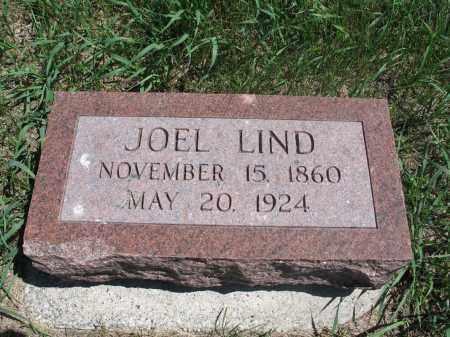 LIND, JOEL - Logan County, North Dakota | JOEL LIND - North Dakota Gravestone Photos