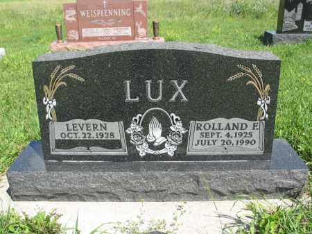 LUX 188, LEVERN - Logan County, North Dakota | LEVERN LUX 188 - North Dakota Gravestone Photos