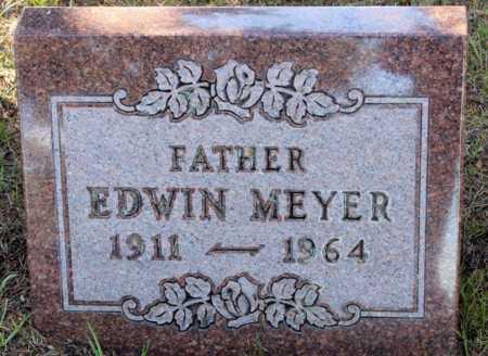MEYER, EDWIN - Logan County, North Dakota | EDWIN MEYER - North Dakota Gravestone Photos