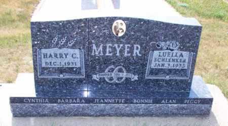 SCHLENKER MEYER, LUELLA - Logan County, North Dakota | LUELLA SCHLENKER MEYER - North Dakota Gravestone Photos