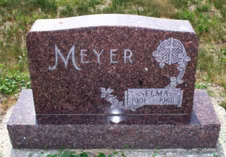 MEYER, SELMA - Logan County, North Dakota | SELMA MEYER - North Dakota Gravestone Photos