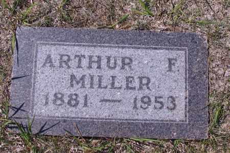 MILLER, ARTHUR F. - Logan County, North Dakota | ARTHUR F. MILLER - North Dakota Gravestone Photos
