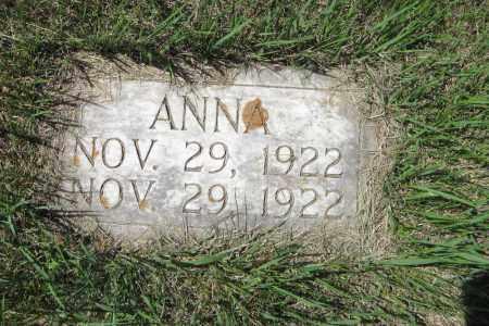 MILLER, ANNA - Logan County, North Dakota | ANNA MILLER - North Dakota Gravestone Photos