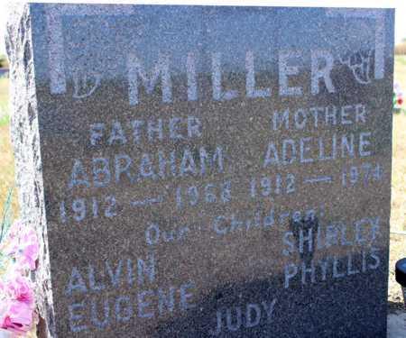 MILLER, ABRAHAM - Logan County, North Dakota | ABRAHAM MILLER - North Dakota Gravestone Photos