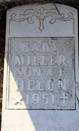MILLER, BABY SON - Logan County, North Dakota | BABY SON MILLER - North Dakota Gravestone Photos