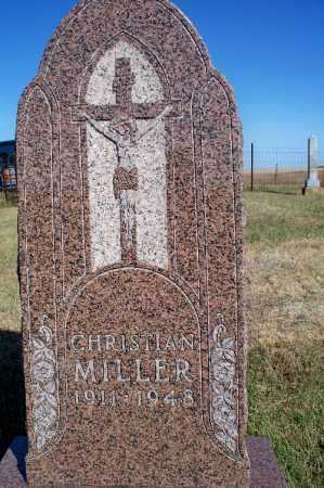 MILLER, CHRISTIAN - Logan County, North Dakota | CHRISTIAN MILLER - North Dakota Gravestone Photos