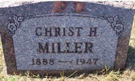 MILLER, CHRIST H. - Logan County, North Dakota | CHRIST H. MILLER - North Dakota Gravestone Photos