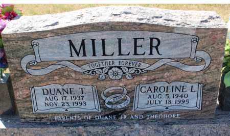 MILLER, DUANE T. - Logan County, North Dakota | DUANE T. MILLER - North Dakota Gravestone Photos
