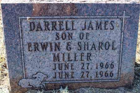MILLER, DARRELL JAMES - Logan County, North Dakota | DARRELL JAMES MILLER - North Dakota Gravestone Photos