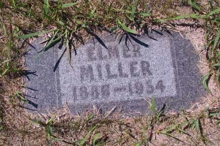 MILLER, ELMER - Logan County, North Dakota | ELMER MILLER - North Dakota Gravestone Photos