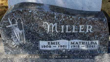 MILLER, EMIL - Logan County, North Dakota | EMIL MILLER - North Dakota Gravestone Photos