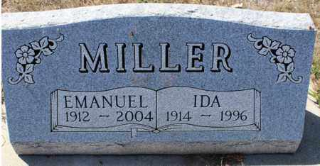 MILLER, EMANUEL - Logan County, North Dakota | EMANUEL MILLER - North Dakota Gravestone Photos