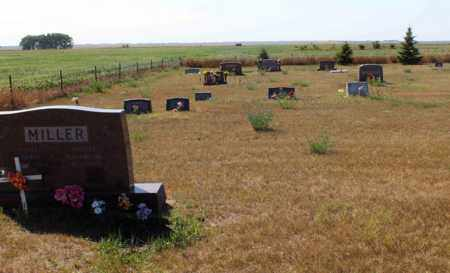 MILLER, FENCE - Logan County, North Dakota | FENCE MILLER - North Dakota Gravestone Photos