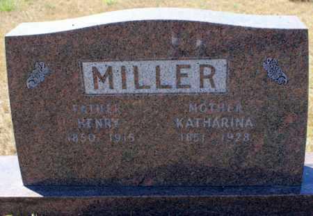 MILLER, KATHARINA - Logan County, North Dakota | KATHARINA MILLER - North Dakota Gravestone Photos