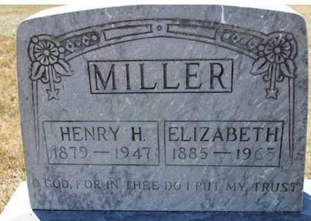 MILLER, HENRY H. - Logan County, North Dakota   HENRY H. MILLER - North Dakota Gravestone Photos