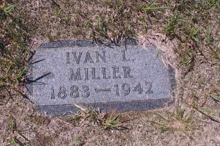 MILLER, IVAN L. - Logan County, North Dakota | IVAN L. MILLER - North Dakota Gravestone Photos