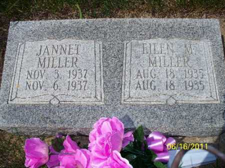 MILLER, JANNET - Logan County, North Dakota | JANNET MILLER - North Dakota Gravestone Photos